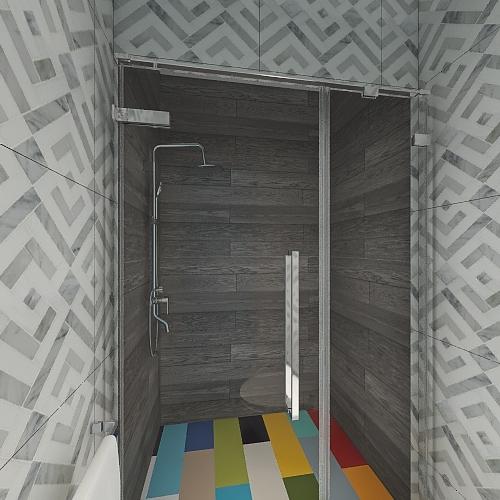 v2_Planta Alta2 Interior Design Render