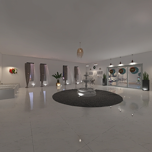 Quarto dos Sonhos Interior Design Render
