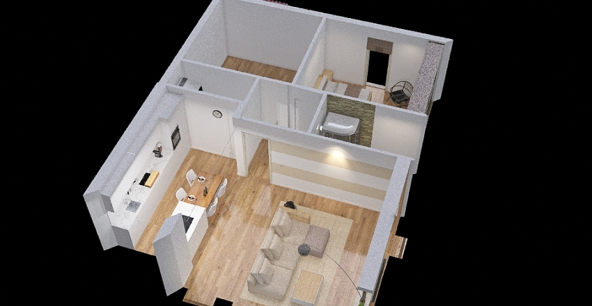 Copy of my new home project Interior Design Render