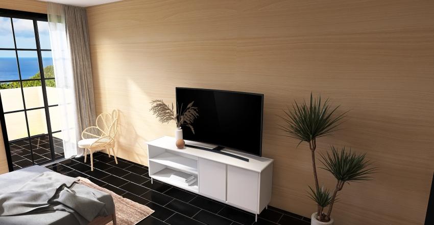 Spa Resort Room Interior Design Render