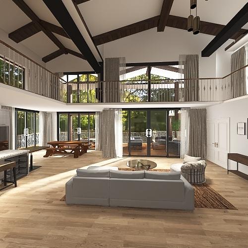 Timber Run Home 2 Interior Design Render