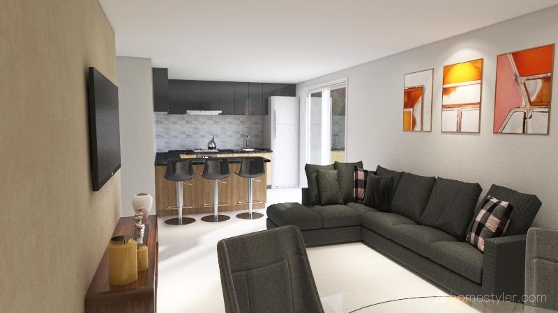 Larissa versão 1 Interior Design Render