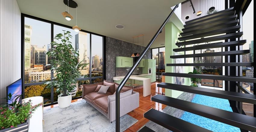 Sobradinho Interior Design Render