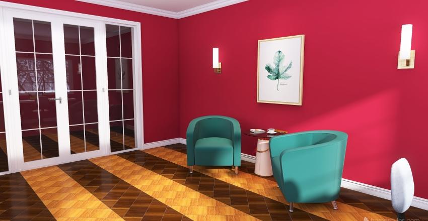 ADF - Home Office/Study Room Interior Design Render