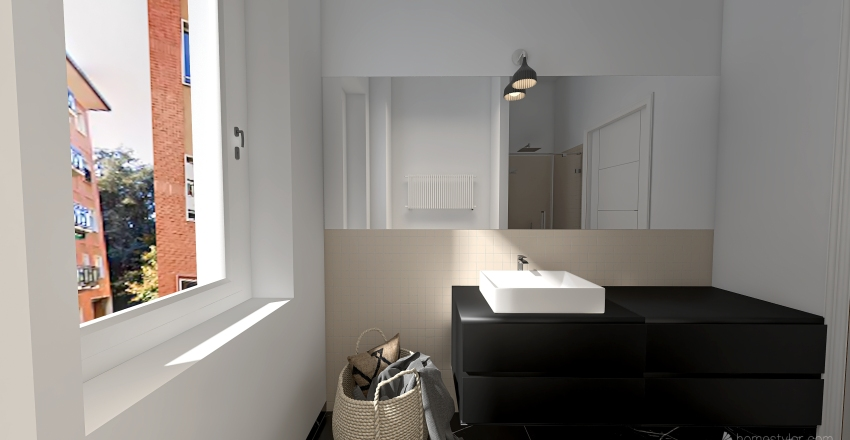 bagno salvatore Interior Design Render