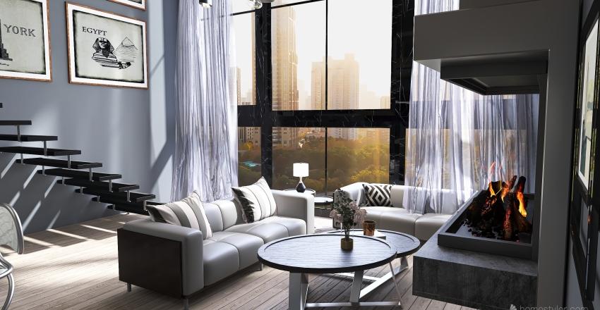Livin for the City Interior Design Render