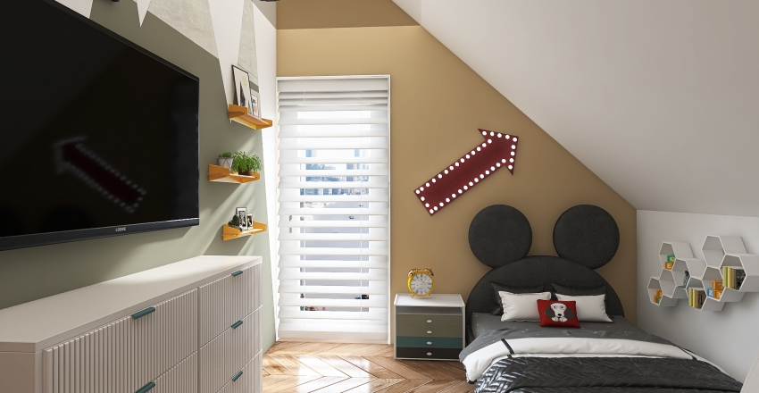 Pokój Aleksiks :) Interior Design Render