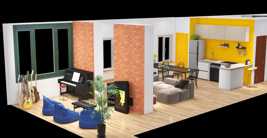 Andrea Finale Interior Design Render