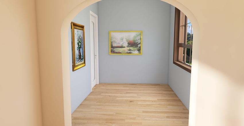 cottagecore house Interior Design Render