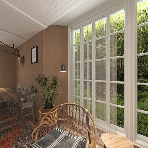La Casa Solitaria Interior Design Render