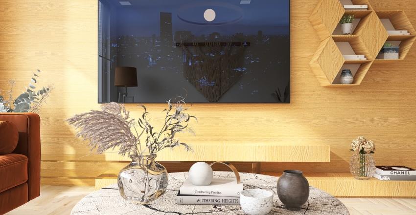 Boho apartamento  Interior Design Render