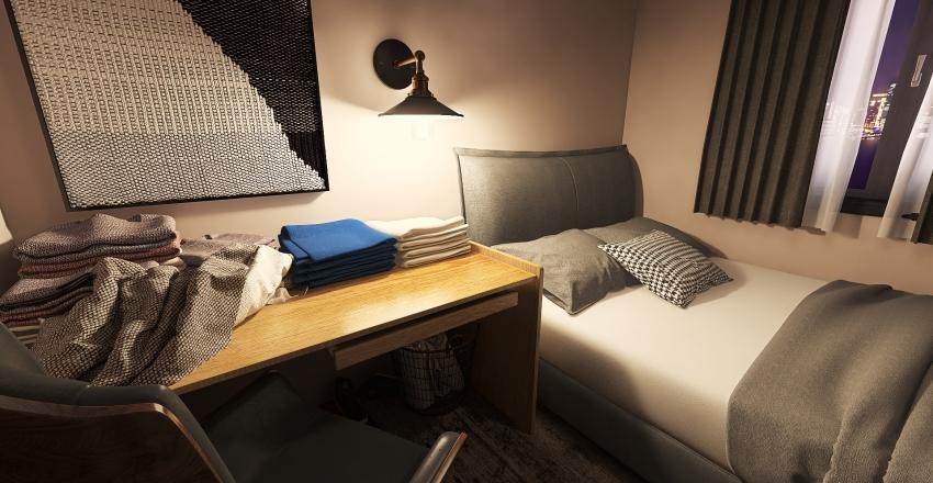 Village Home Interior Design Render