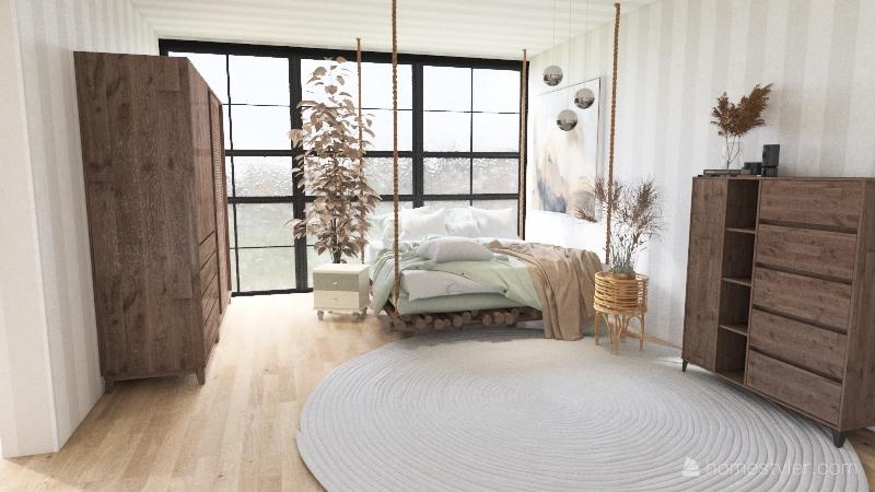 Modern Tiny Loft (No outdoor Desing) Interior Design Render