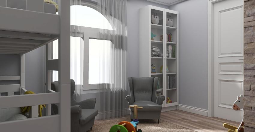 Дом Максим Талдом Interior Design Render