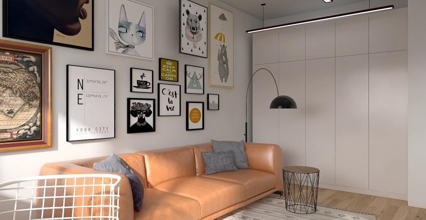 Чайковского Interior Design Render