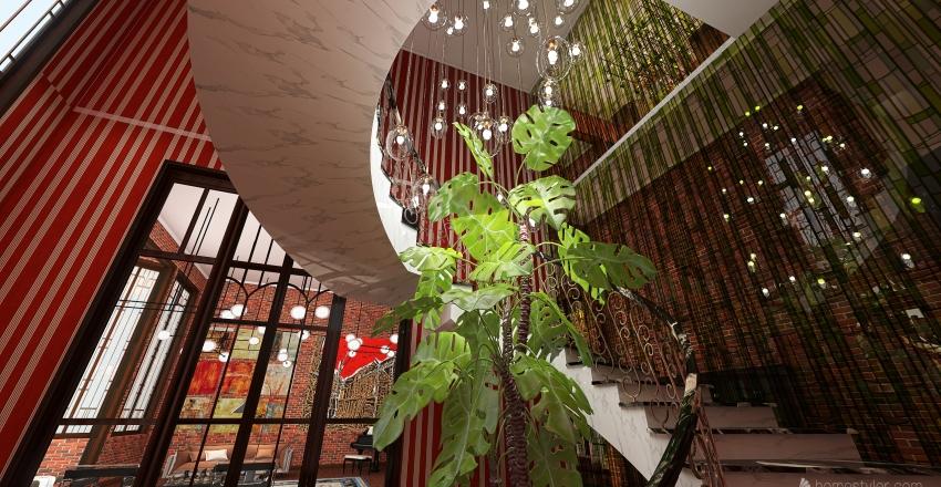 Hôtel Particulier Interior Design Render