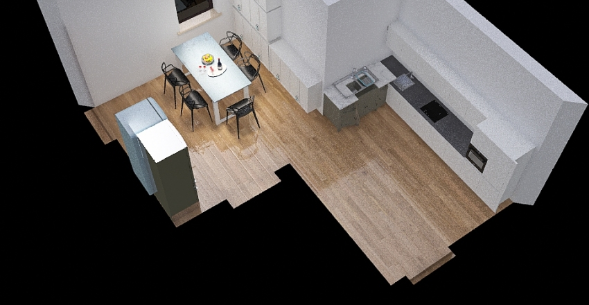Copy of mutfak Interior Design Render