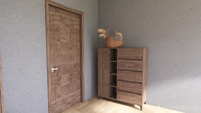 Mah Brother's Room (No outdoor Desing) Interior Design Render