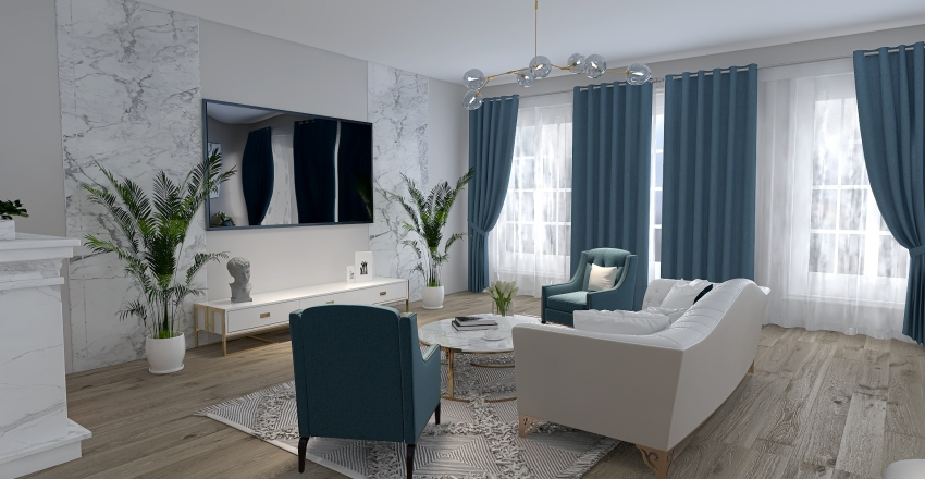 #12. Interior Design Render