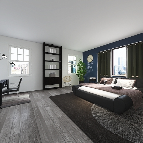 8500 sq. ft. house Interior Design Render