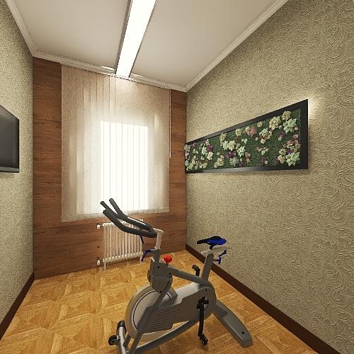 квартира 57 Interior Design Render