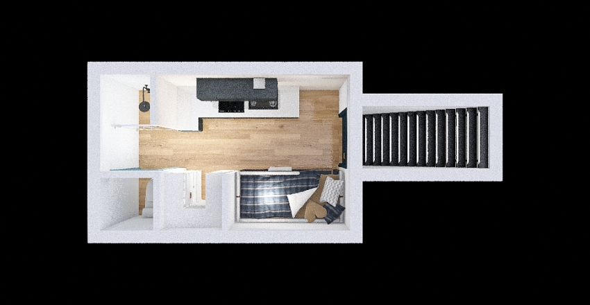 Copy of Mini úkryt TS12 Interior Design Render