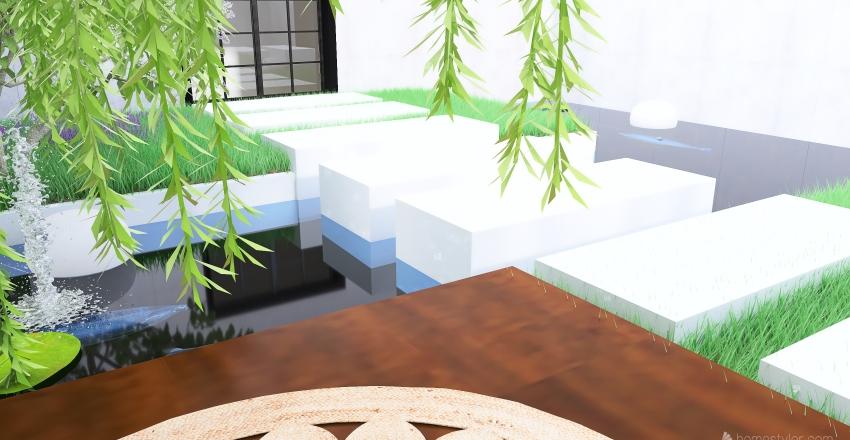 Atrium Oasis Interior Design Render