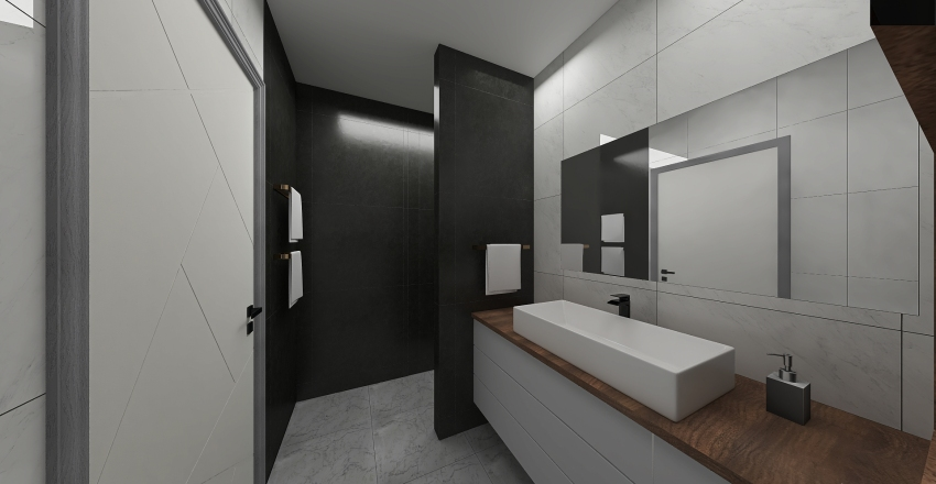 łazienka v3 Interior Design Render