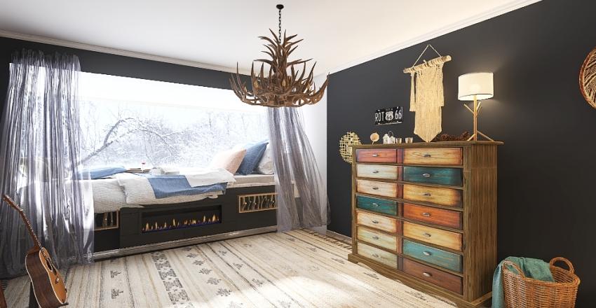 silent Interior Design Render