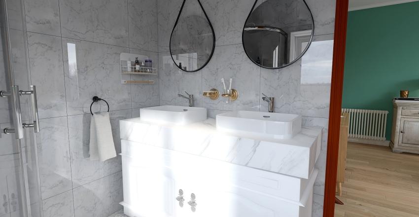 Dúplex grande para familia numerosa Interior Design Render