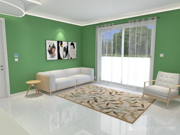 La prima casa non si scorda mai Interior Design Render