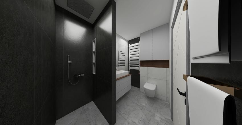 łazienka v3 big radiator Interior Design Render