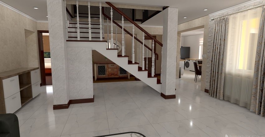 Copy of Projekt domu 6 Interior Design Render
