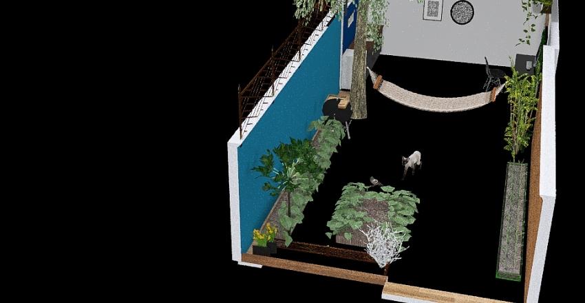 v2_cabaña con todo  sin wc Interior Design Render