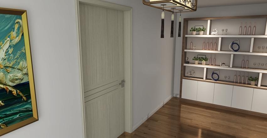 Chic Sweet  Home Interior Design Render