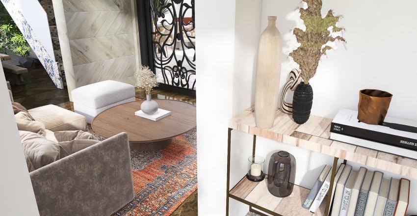 Mediterranean Inspired House Interior Design Render