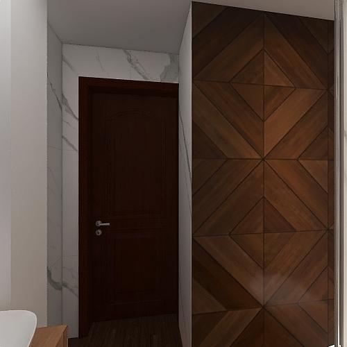 lazienka Lubin Interior Design Render