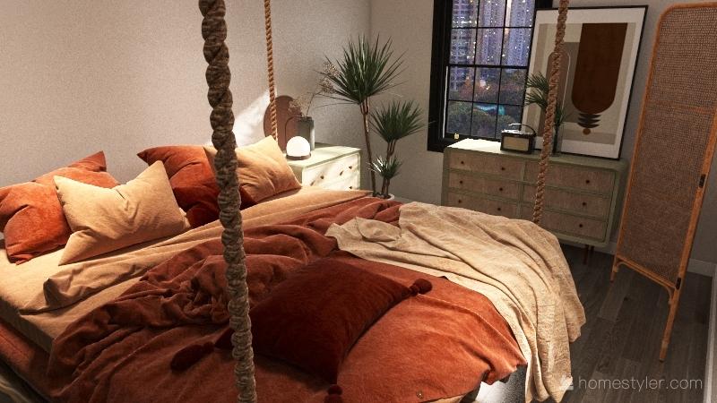 889 Apartment Interior Design Render