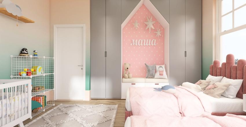 cozy house  Interior Design Render