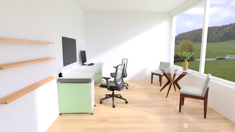 Hearing Rehab - OC Interior Design Render