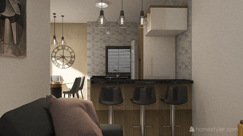 Larissa2 Interior Design Render