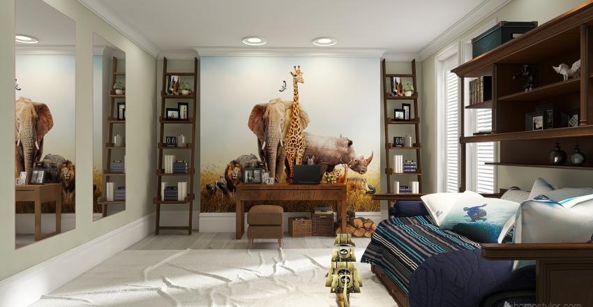 anim Interior Design Render
