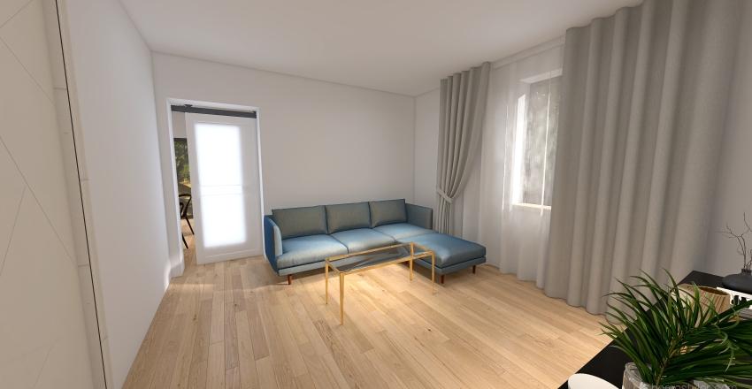 Baie  of Duplex Fagaras Interior Design Render