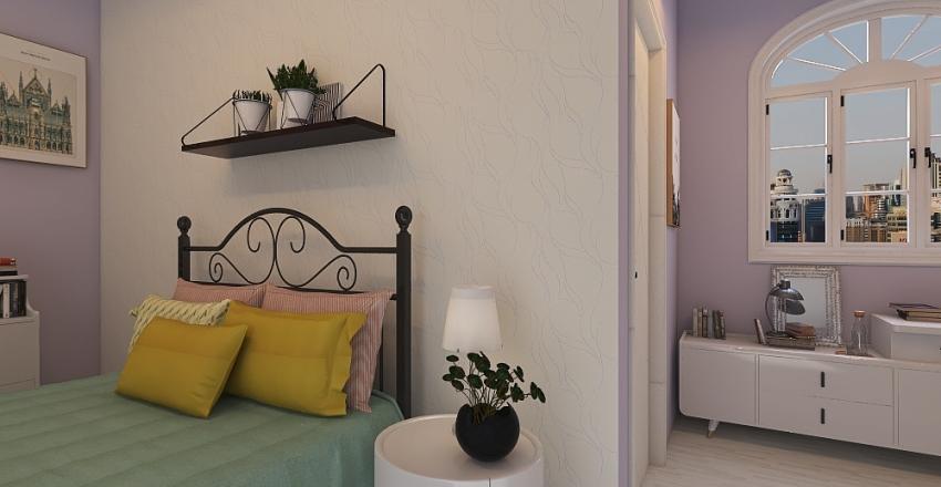Family duplex Interior Design Render