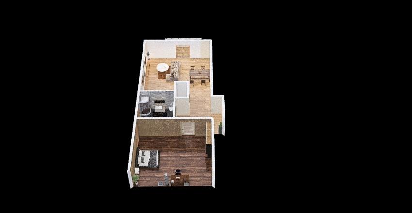 Mieszkanie 1 Interior Design Render