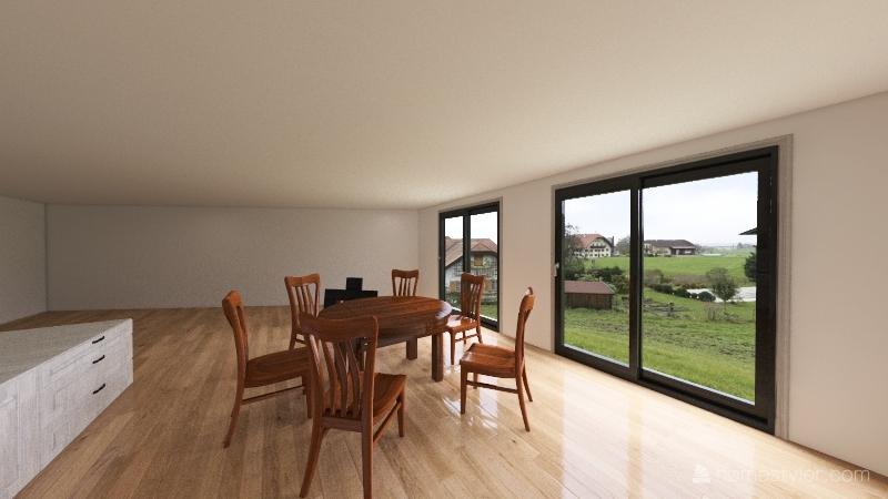 Casa Campo2 Interior Design Render