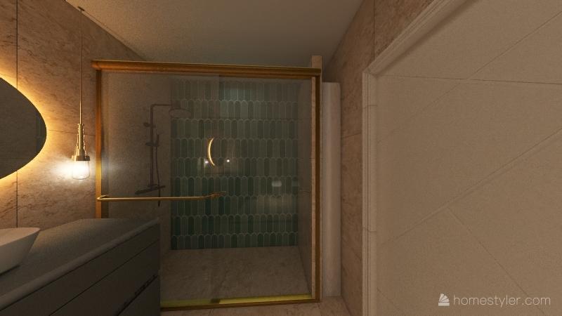 łazienka Sylwi Interior Design Render