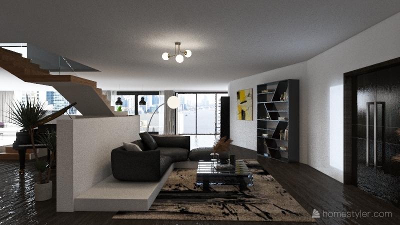rio duplex Interior Design Render