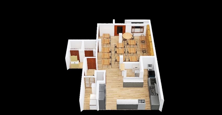 LA LONJA RESTAURANT Interior Design Render