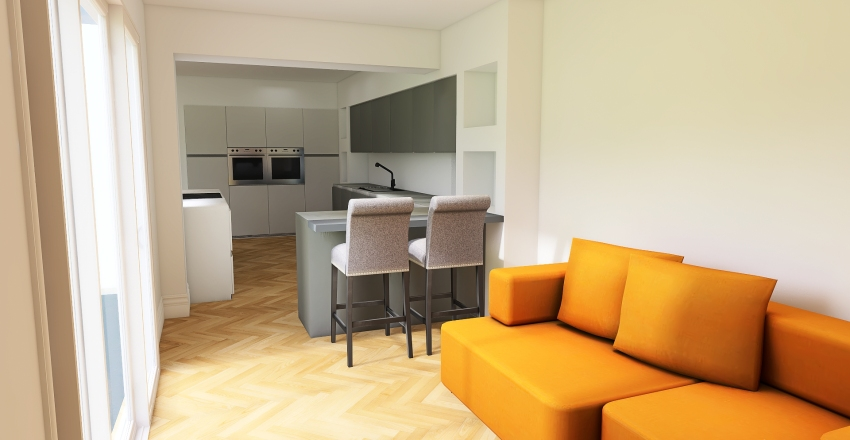 Pete's Kitchen 5 Interior Design Render